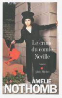 Le crime du comte Neville de Amélie Nothomb